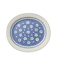 Villeroy & Boch® Farmhouse Touch Blue Flowers Oval Platter