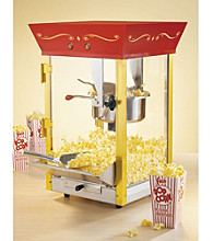 Nostalgia Electrics® Vintage Collection™ Old Fashioned Movie Time Popcorn Maker - Red