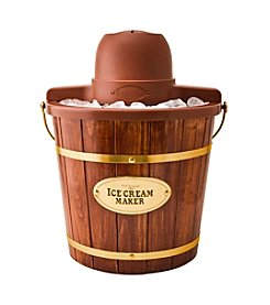 Nostalgia Electrics® 4-qt. Wooden Electric Ice Cream Maker