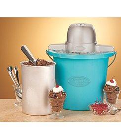 Nostalgia Electrics® 4-qt. Blue Electric Ice Cream Maker