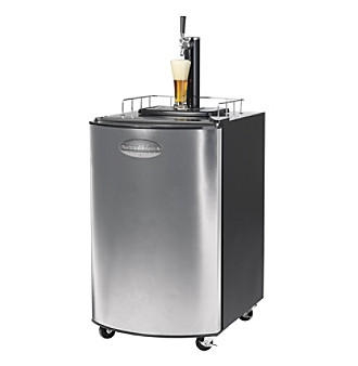 Nostalgia Electrics® Kegorator™ Stainless Steel Beer Keg Fridge