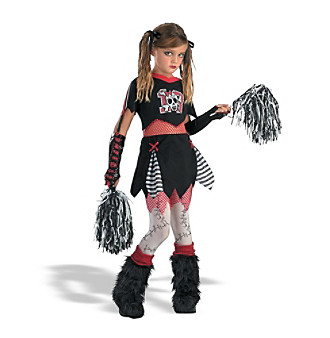 Cheerless Leader Child's Costume