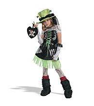 Green Monster Bride Child's Costume
