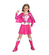 Pink Supergirl Toddler/Child's Costume