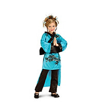 Teal Dragon Child's Costume