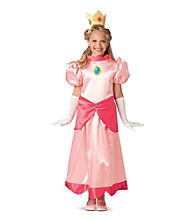 Deluxe Super Mario Princess Peach Child's Costume