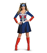 Transformers 3: Dark of the Moon - Optimus Female Classic Adult Costume