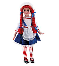 Yarn Babies Rag Doll Girl's Costume