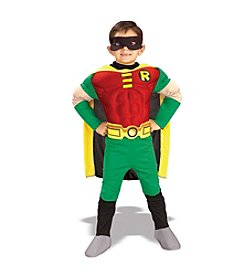 Teen Titans™ DC Comics Robin Muscle Chest Deluxe Toddler/Child Costume
