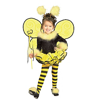 Bumblee Bee Toddler/Child Costume Kid's