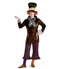 Alice In Wonderland® Movie Prestige Mad Hatter Adult Costume