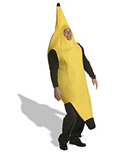Banana Costume Plus Adult