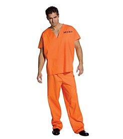 Jailhouse Jumpsuit Adult Costume