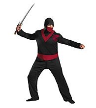 Ninja Warrior Adult Plus Costume