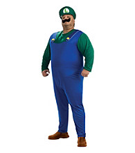 Super Mario Bros. - Luigi Plus Adult Costume
