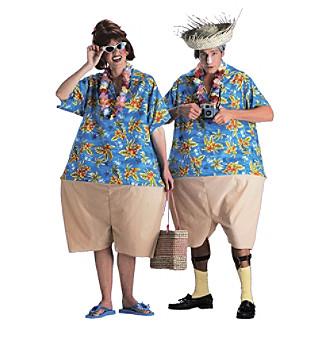 Tacky Tourist Adult Costume