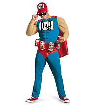 The Simpsons® - Duffman Classic Muscle Adult Costume