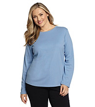 Jones New York Signature® Plus Size Crewneck Tee