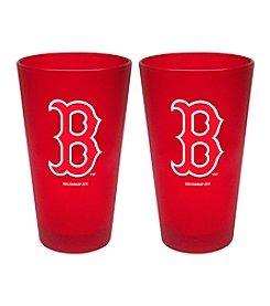 Boelter Brands MLB® Boston Red Sox 2-Pack Frosted Pint Glasses
