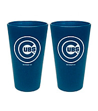 Boelter Brands MLB® Chicago Cubs 2-Pack Frosted Pint Glasses