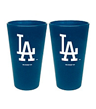 Boelter Brands MLB® Los Angeles Dodgers 2-Pack Frosted Pint Glasses