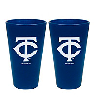 Boelter Brands MLB® Minnesota Twins 2-Pack Frosted Pint Glasses