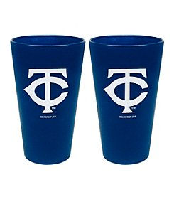 MLB® Minnesota Twins 2-Pack Frosted Pint Glasses