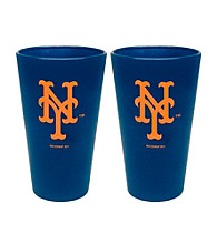 Boelter Brands MLB® New York Mets 2-Pack Frosted Pint Glasses