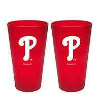 Boelter Brands MLB® Philadelphia Phillies 2-Pack Frosted Pint Glasses