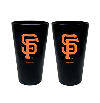Boelter Brands MLB® San Francisco Giants 2-Pack Frosted Pint Glasses