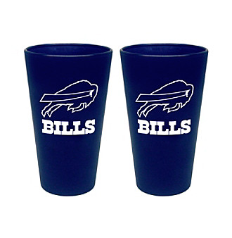 Boelter Brands NFL® Buffalo Bills 2-Pack Frosted Pint Glasses