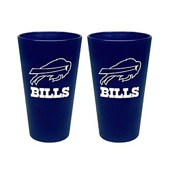 Boelter Brands NFL® Buffalo Bills 2-Pack Frosted Pint Glasses