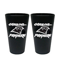 Boelter Brands NFL® Carolina Panthers 2-Pack Frosted Pint Glasses
