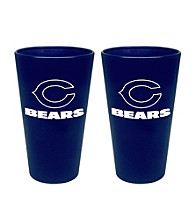 Boelter Brands NFL® Chicago Bears 2-Pack Frosted Pint Glasses