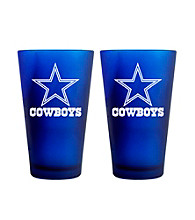 Boelter Brands NFL® Dallas Cowboys 2-Pack Frosted Pint Glasses