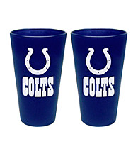 Boelter Brands NFL® Indianapolis Colts 2-Pack Frosted Pint Glasses