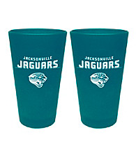 Boelter Brands NFL® Jacksonville Jaguars 2-Pack Frosted Pint Glasses