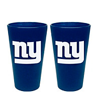 Boelter Brands NFL® New York Giants 2-Pack Frosted Pint Glasses