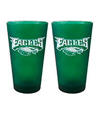 Boelter Brands NFL® Philadelphia Eagles 2-Pack Frosted Pint Glasses
