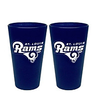 Boelter Brands NFL® St. Louis Rams 2-Pack Frosted Pint Glasses