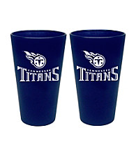 Boelter Brands NFL® Tennessee Titans 2-Pack Frosted Pint Glasses