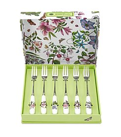 Portmeirion® Botanic Garden Set of 6 Pastry Forks