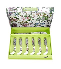 Portmeirion® Botanic Garden Cheese Knife with 6 Spreaders