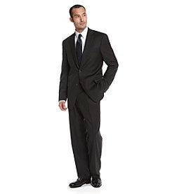 Hart Schaffner Marx® Men's Black Herringbone Suit