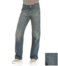 Nautica Jeans Co. Men's Crossed Indigo Loose Fit Jeans