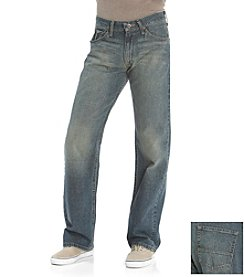 Nautica Jeans Co. Men's Crossed Indigo Relaxed Fit Jeans