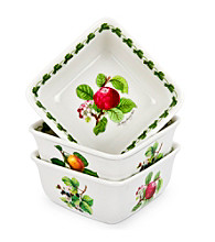 Portmeirion® Pomona Set of 3 Square Mini Dishes