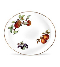Royal Worcester Evesham Gold Oval Platter