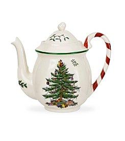 Spode® Christmas Tree Peppermint Teapot