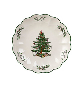 Spode® Christmas Tree Sculpted Pie Dish